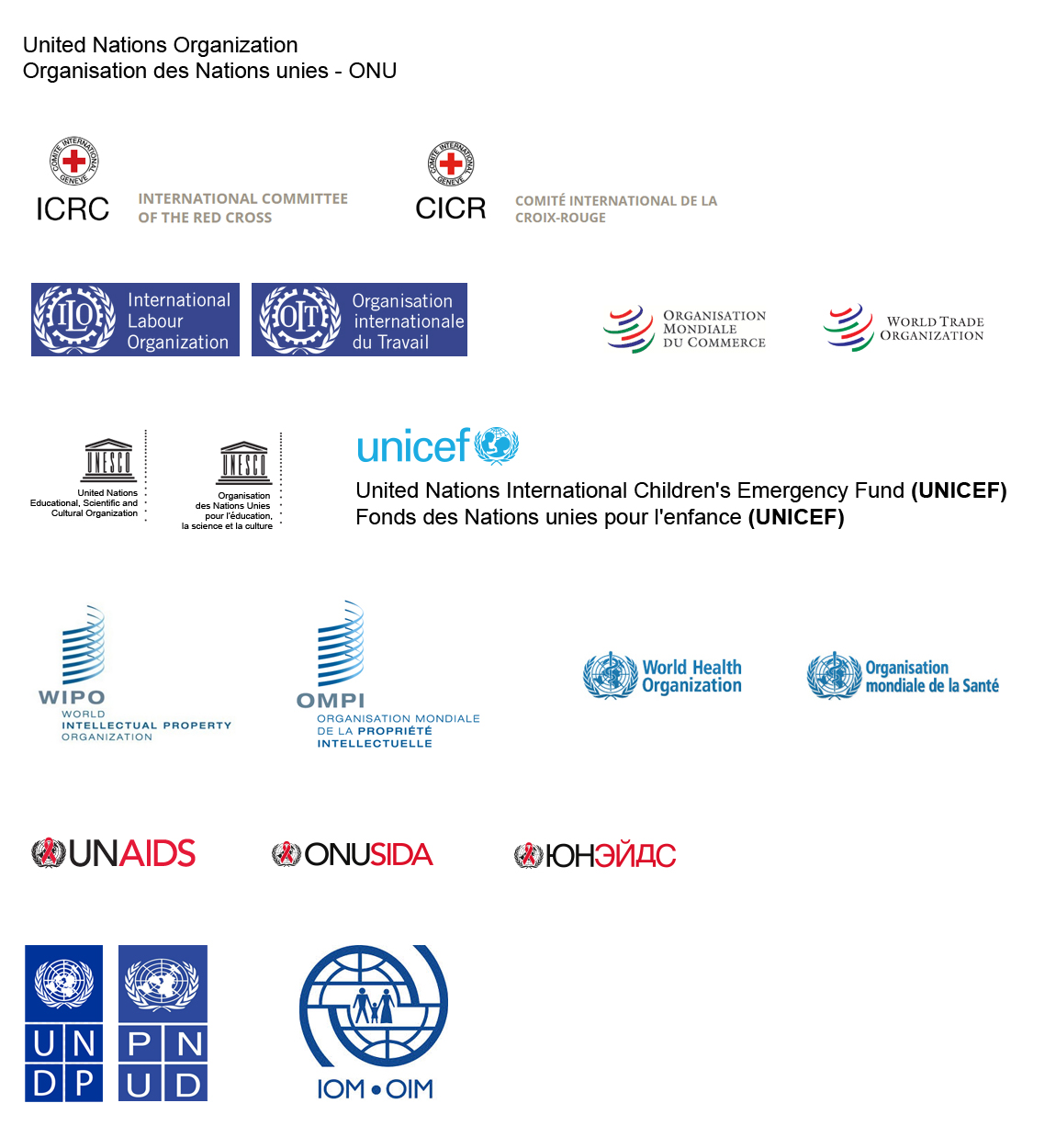 International Organizations Logos And Names - Image Mag