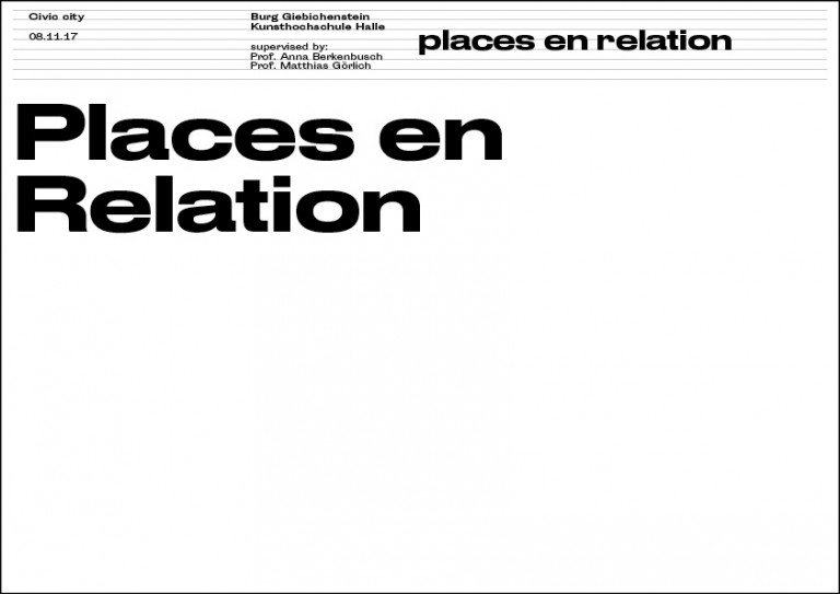 Places en Relation Halle