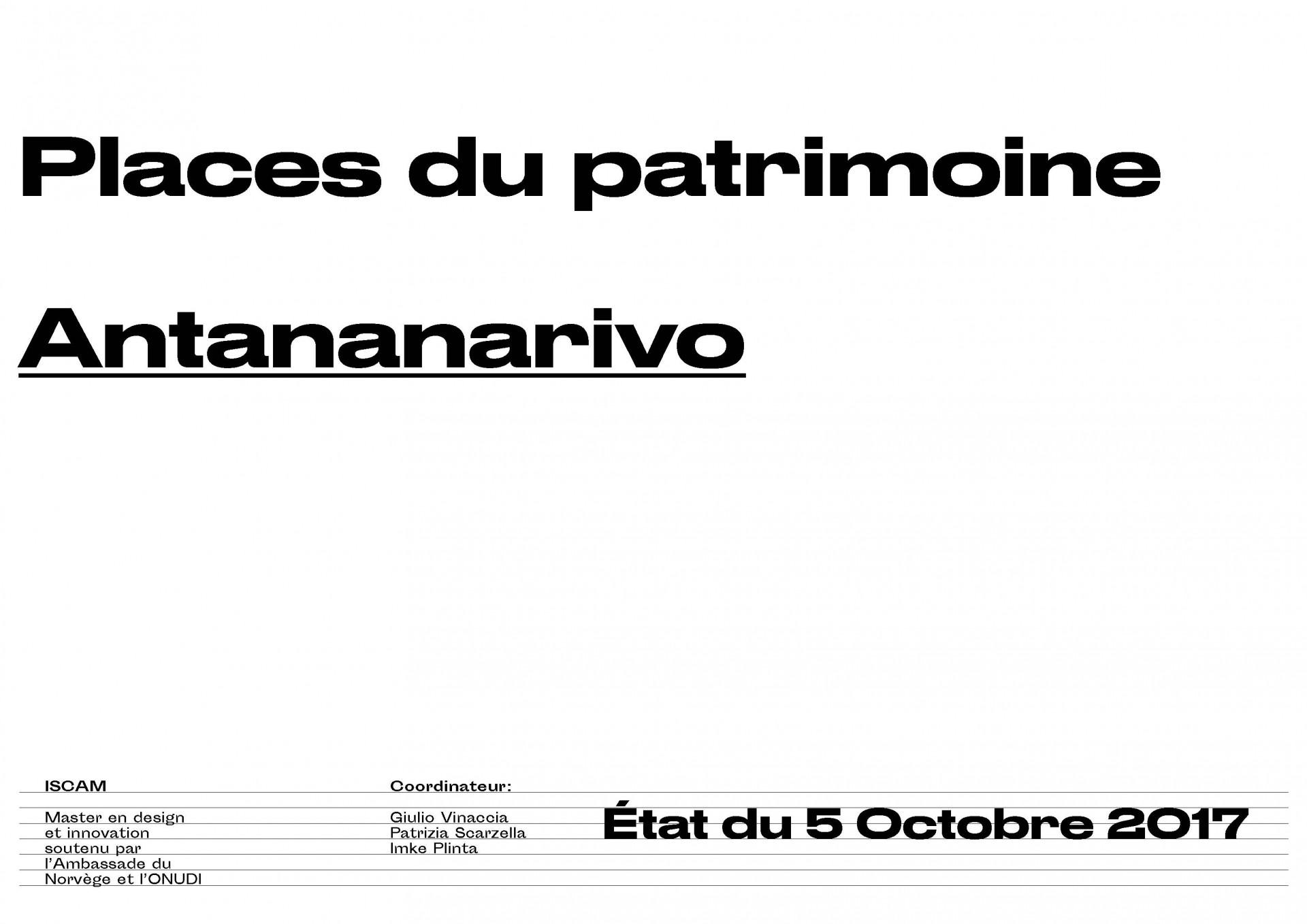 Places en Relation Antananarivo