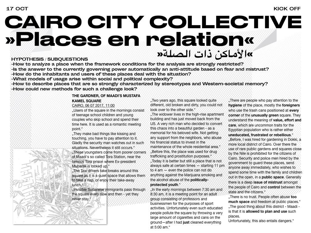 Places en Relation Caire